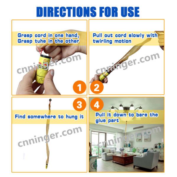 fly glue ribbon