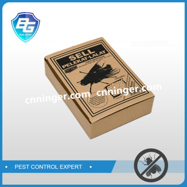 kraft paper fly glue trap