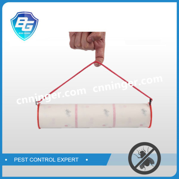 hanging fly glue roll